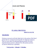 Lecture 10 - Plasma Proteins - 18 Sep 2006