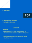 Lecture 18 - Thrombosis