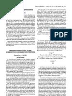 Generos alimenticios - Legislacao Portuguesa- 2011/10 - DL nº 103 - QUALI.PT