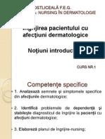Ingrijirea Pacientului in Dermatologie Notiuni Introductive Si Plan