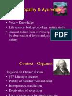 Homeopathy & Ayurveda