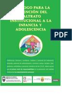 Decalogo prevención maltrato institucional 2009