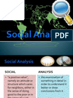 Social Analysis New