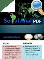 Social Analysis New