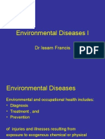 Patho - 4th Asessment - Environmental Diseases I - 2007