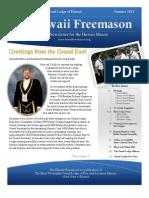 Hawaii Free Mason Newsletter