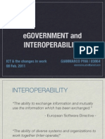 eGovernment and Interoperability in Italy