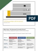 SAP Business Objects BI on-Demand