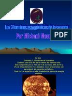 3 Terminos Astronómicos Míchani