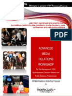 Advanced Media Relations Workshop (Oct-Dec 2011)