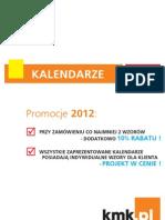 Kalendarze 2012
