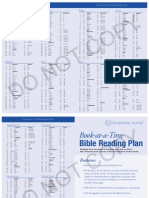 Book at a Time Bible Reading Plan