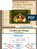 Pharmacology of cholinergic system-1