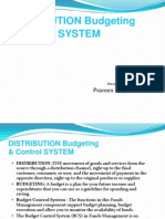 Distribution Budget 20 Ppt