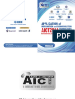 AICT2011 Conference Program Brochure