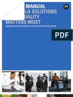 Motorola Quality Manual