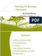 Biomass Contract Farming