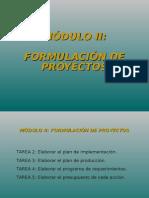 Formulación Tareas 2 a 4
