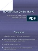 Normativa Ohsa 18