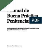 Manual de buena práctica penitenciaria