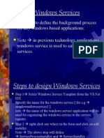 Windows Services