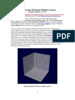 3D Corner Reflector Antenna