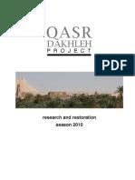 Qdp Report 2010