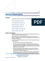 Access Restrictions NTPs