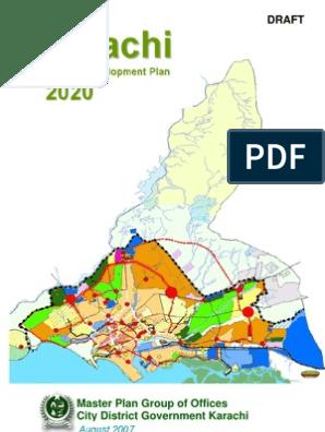 Karachi Master Plan 2020 | Karachi | City