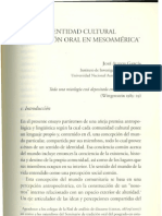 Alejos-Identidad cultural y tradición oral en Mesoamérica
