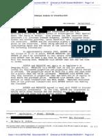 FBI Interview of Veldora Arthur