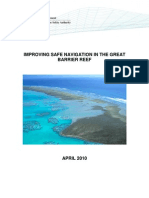 AMSA Report of Safe Navigation in the GBR