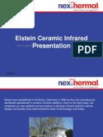 Elstein Ceramic Infrared Radiators