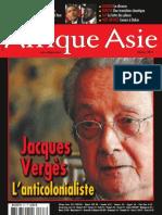 Afrique Asie - Jacques Vergès L'anticolonialiste