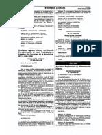DS009-2006-SA to de Alimentacion Infantil