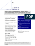 Abstract Mathematics LonExt 2p
