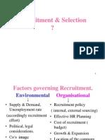 Slides Recruitment & Selection
