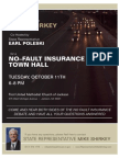 Shirkey No Fault Town Hall