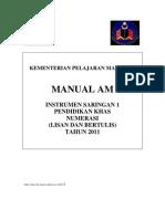 Manual Am Numerasi