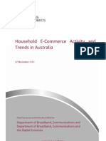 Household E-commerce Activity and Trends in Australia-25Nov2010-Final