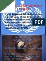 Derecho Fundamental a La Saud