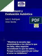 Assessment y Evaluación Auténtica