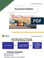 Online Payment Mechanism