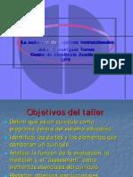 Redaccion Objetivos Instruccionales Ppt