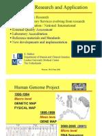 Genomics Research