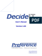 DecideIT Manual