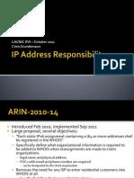 IP Address Responsibility