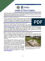 Community E-News Update DR-4021-NJ Issue 2