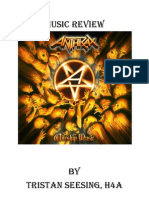 Music Review Anthrax - Worship Music