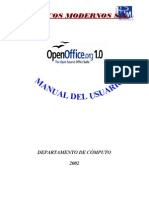 Manual de Open Office